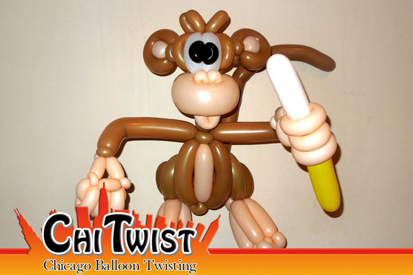 Deluxe Monkey Balloon