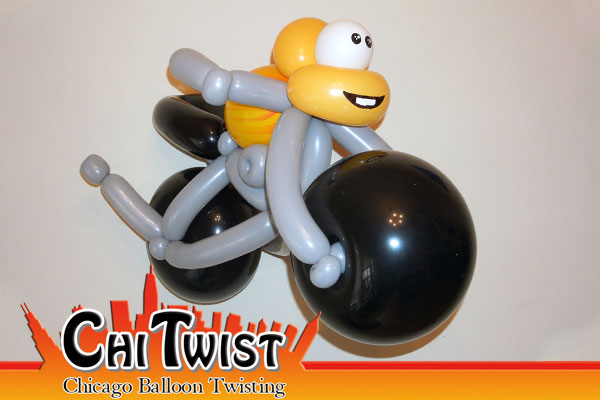 Motorcycle Balloon