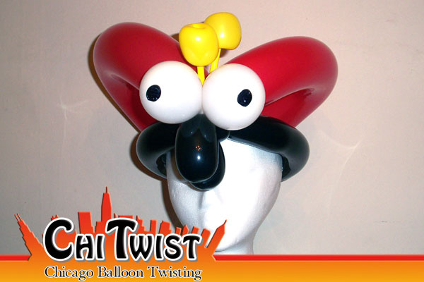 LadybugBalloon Hat