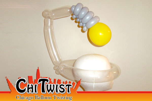 Lightbulb Balloon Hat