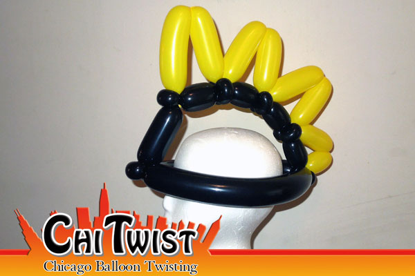 Mohawk Balloon Hat