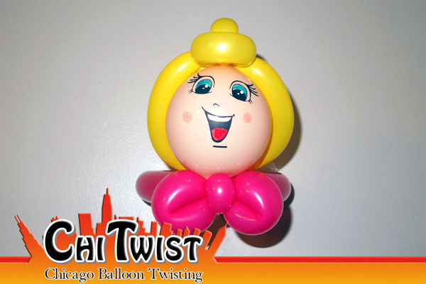 Princess Balloon Hat