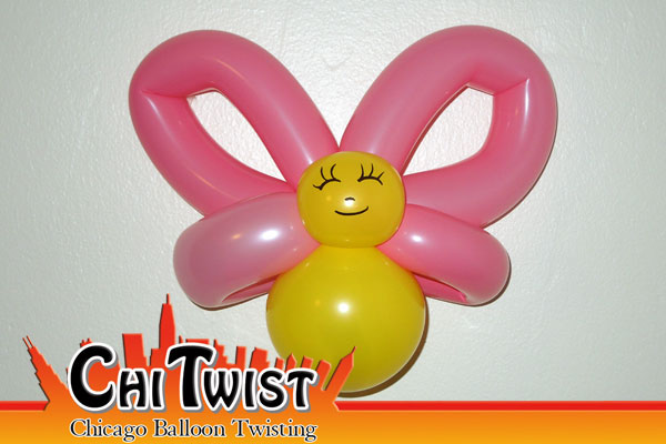 Baby Butterfly Balloon