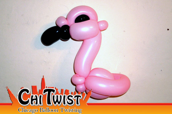 Flamingo Balloon Animal
