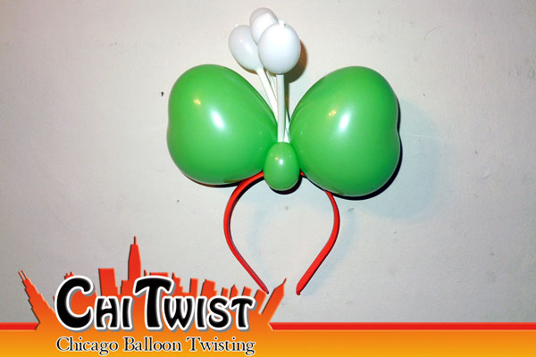 Irish Hairband St. Patrick's Day Balloon