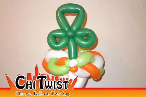 Shamrock Hat St. Patrick's Day Balloon