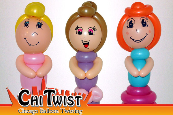 Doll Balloons