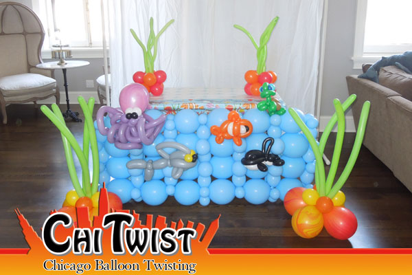 under the sea balloon animals