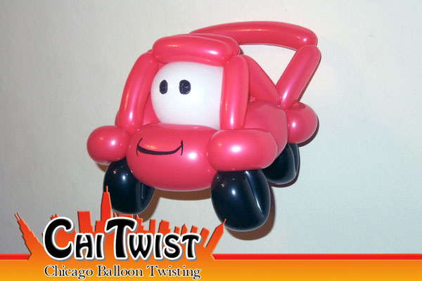 Race Car Balloon