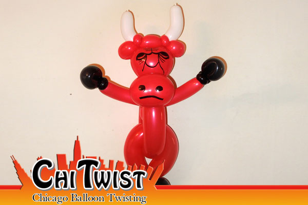 Benny the Bull Balloon